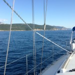 Sailing in Montenegro and Croatia