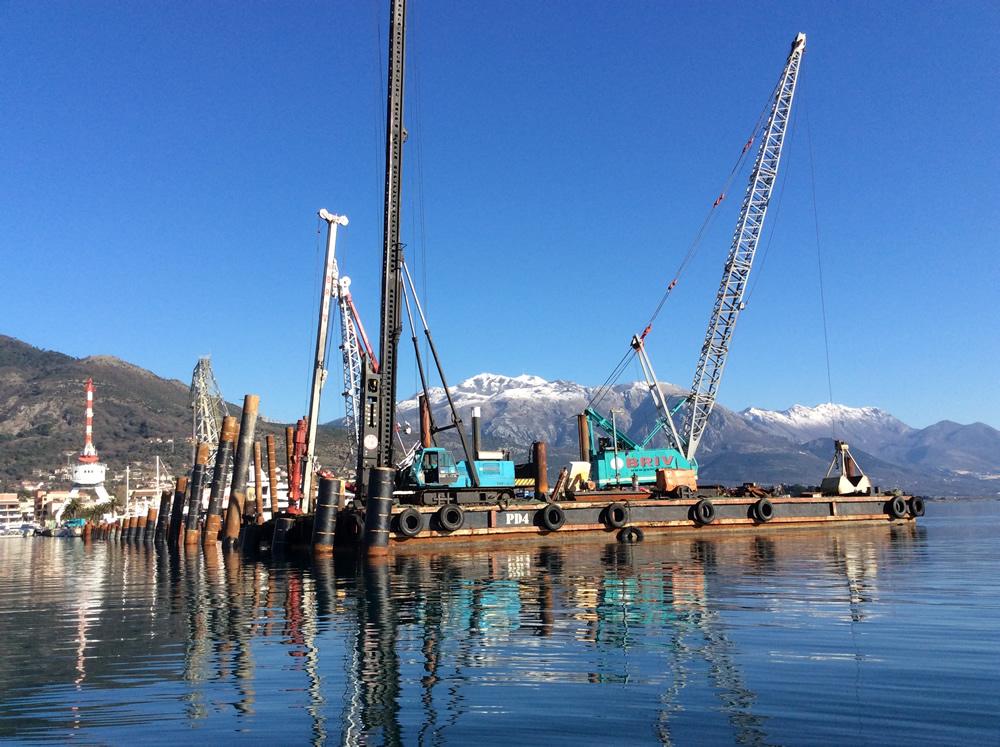 Porto Montenegro New Pontoon Jetty 2