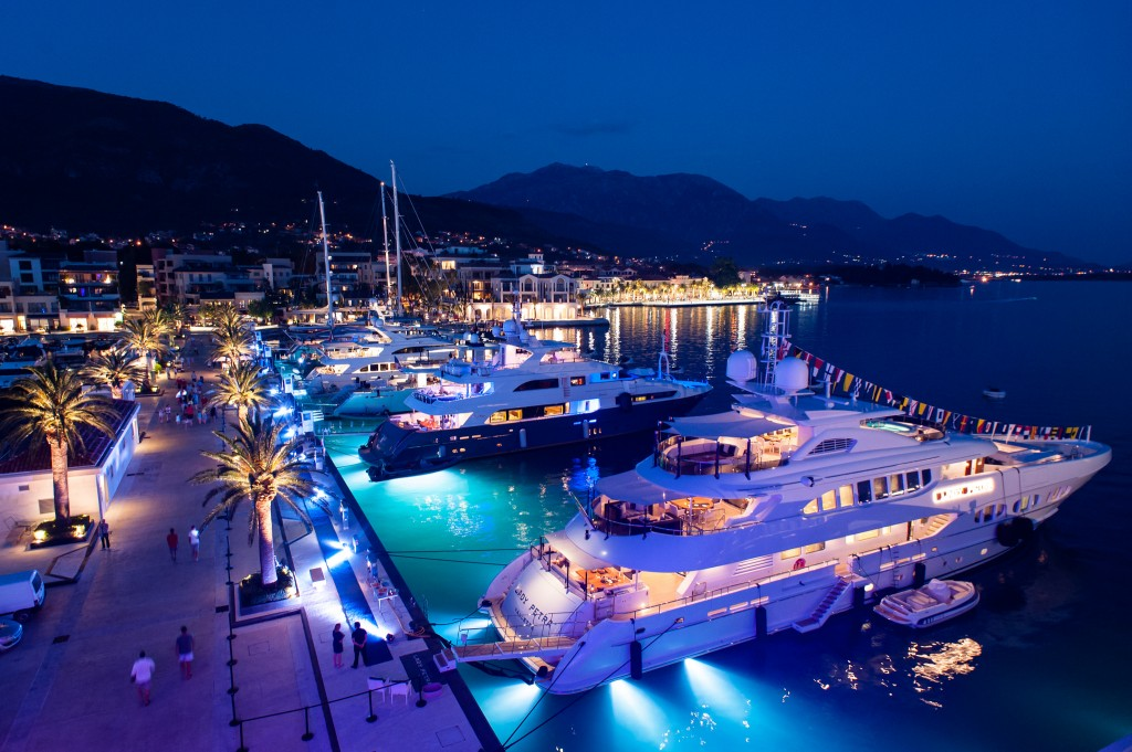 Super Yachts Night Porto Montenegro July 2015