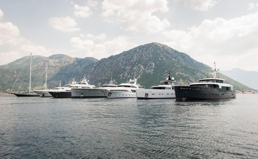 Super Yachts Porto Montenegro July 2015